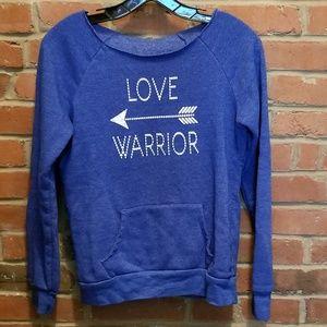 Love Warrior sweatshirt